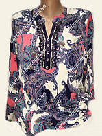 Оригинальная женская туника с ярким узором 32365