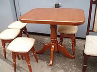 Стол деревянный из ольхи
