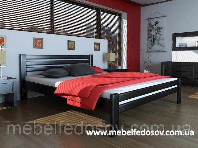 Кровать Премьера двуспальная 160 (Мебигранд/Mebigrand) 1720х1990(2090)х800мм