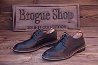 Мужские кожаные туфли  ( 40 - 44 размеры), Код: 506.
