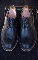 Мужские кожаные туфли Bonis ( 40 - 44 размеры), Код: 506.