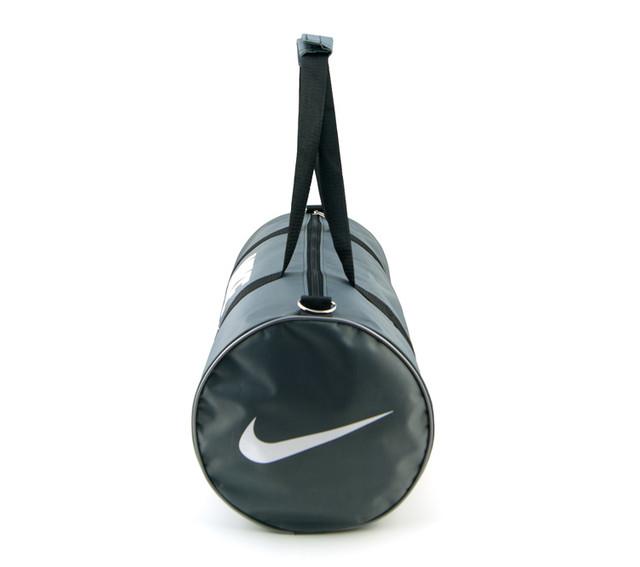 Спортивная сумка Nike | серая | вид сбоку