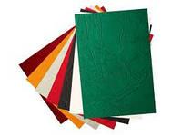 Обложки картонные КАНТРИ под кожу, цвет - бежевый, уп/100шт.