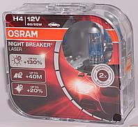 АВТОЛАМПА OSRAM H4 64193NBL+130% NIGHT BREAKER LASER