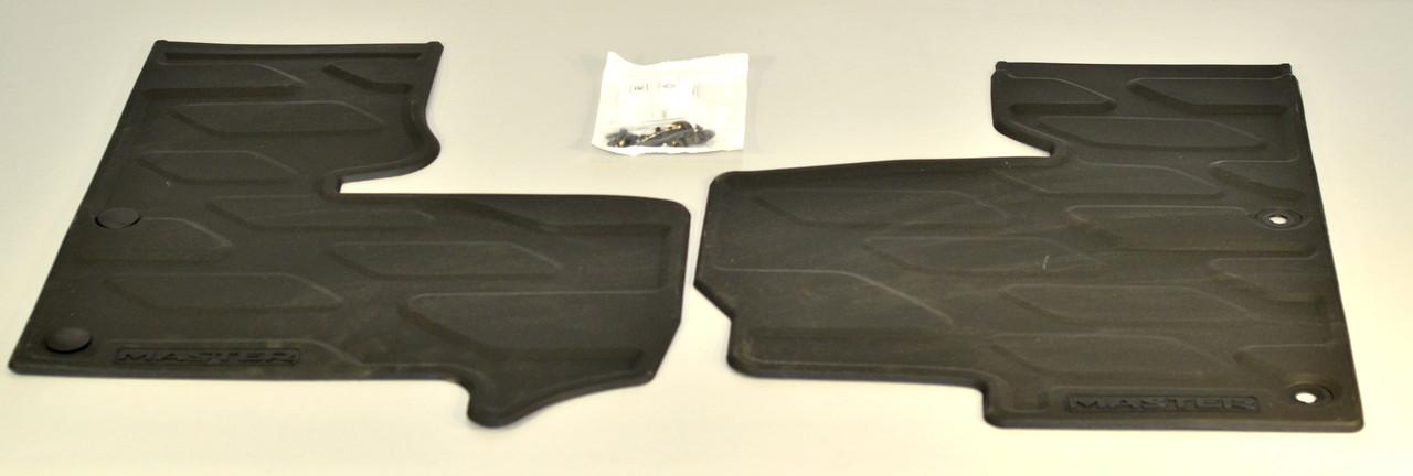 Комплект ковриков передних (резиновый) на Renault Master III  2010-> — Renault (Оригинал) 77 11 426 008
