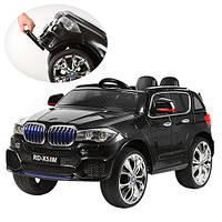 Детский электромобиль джип BMW X5 M 2762 EBR-2, черный