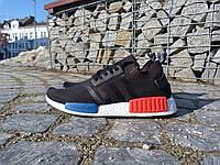 Кроссовки мужские летние сетка Adidas Originals NMD Runner (адидас, реплика)
