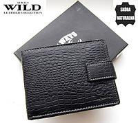 Портмоне кожаный Always Wild. Бумажник кожаный мужской. Кожаные портмоне.