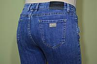 Джинсы женские с высокой талией, зауженные, эластичные, синие с легкой теркой, пошив скинни, размеры 28-33.
