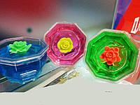 """Игрушка лизун-пластилин, умный пластелин, жвачка для рук, с растушкой """"цветок"""" handgum"""