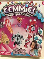 Конструктор для детей  из кристалликов Gemmies, набор для плетения бисером Жемис