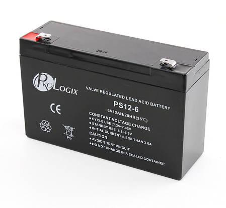 Аккумулятор для детских мотоциклов и электромобилей 6V вольт 12 ah ампер, фото 2
