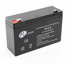 Аккумулятор для детских мотоциклов и электромобилей 6V вольт 12 ah ампер, фото 3