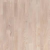 Паркетная доска Поларвуд Классик Дуб Тундра Белый матовый лак - Polarwood Сlassic Oak Tundra  White Matt