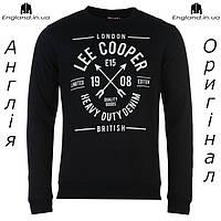 Кофта свитшот толстовка мужская Lee Cooper для тренировок спортивная | Світшот Lee Cooper XS