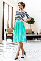 Красивый модный комплект Малибу бирюза Jadone Fashion 42-50 размеры