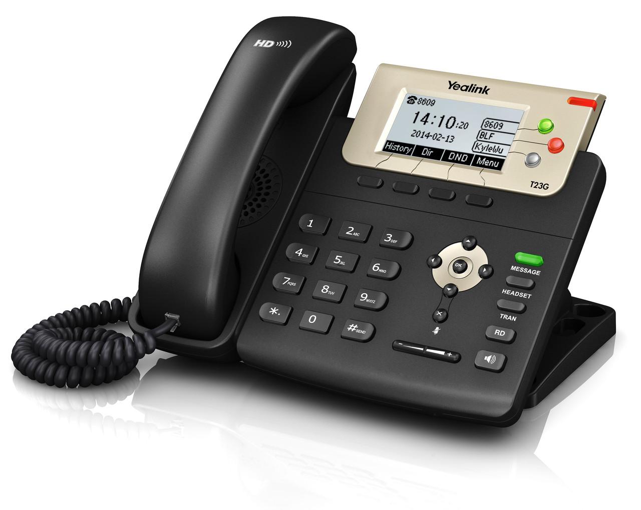 IP телефон Yealink SIP-T23G