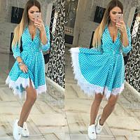 Платье летнее , ткань хлопок Турция , 2 расцветки ,хорошее качество , втет № 20057