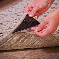 Уголки липучки для ковров Ruggies Anti-Slip Rug Grippers (держатель)
