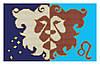 Схемы для вышивки бисером Знаки зодиака ЛЕВ
