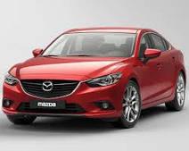 Накладки на пороги Mazda 6 (2013+)