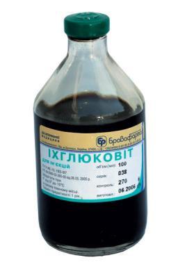 Ихглюковит 250 мл (Бровафарма) комплексный противовоспалительный и антисептический препарат
