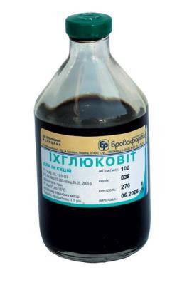 Ихглюковит 200 мл (Бровафарма) комплексный противовоспалительный и антисептический препарат