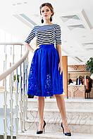 Красивый модный комплект Малибу электрик Jadone Fashion 42-50 размеры