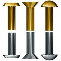 Заклепки алюминиевые ГОСТ 10299-80, ГОСТ 10300-80, ГОСТ 10303-80, под молоток.
