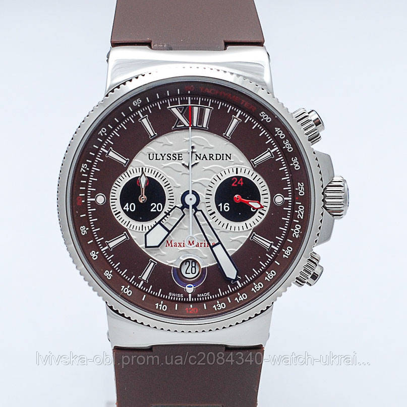 Часы Ulysse Nardin Lady Maxi Marine Chronograph