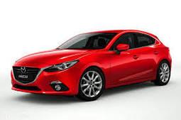 Накладки на пороги Mazda 3 (2013+)