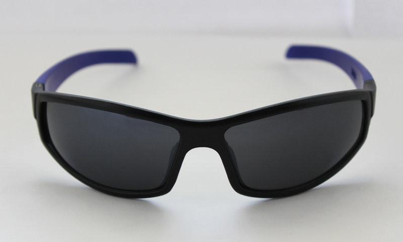 Оригинальные вело солнцезащитные очки для мужчин с синими дужками