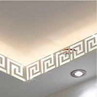 """Наклейка на стену, виниловые наклейки, украшения стены наклейки """"зеркальный орнамент 10шт набор"""" 7,5*8см"""