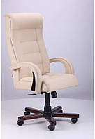 Кресло Роял Lux механизм Tilt, вишня Неаполь N-17