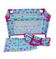 Аксессуары для кукол «Dolls World» (8201) кроватка для путешествий (в сумке)