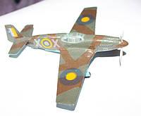 """Модели самолётов 1:72. Американский самолёт-истребитель """"Р-51 Мустанг"""". 2-ая мировая война."""