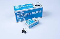 "Биндер 15 mm(1/2""),зажим для бумаг, 144 шт/блок, фото 1"