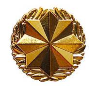 Эмблема правопорядка, золото