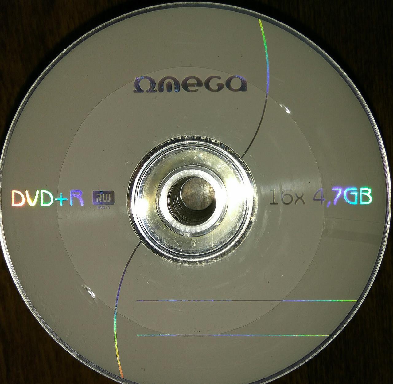 DVD + R Omega 16 x (50 шт и 10 шт)