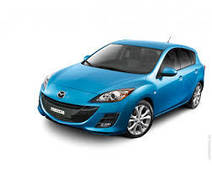 Накладки на пороги Mazda 3 (2009+)