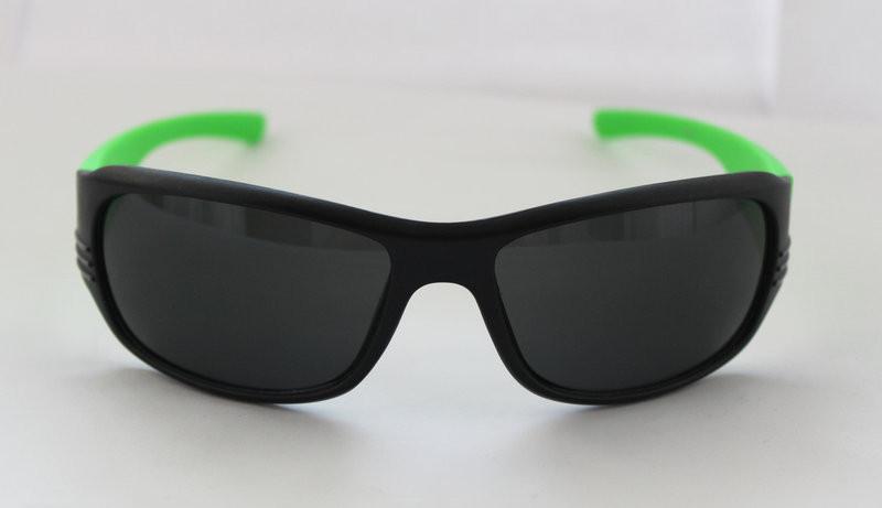 Креативные спортивные мужские солнцезащитные очки с кислотными дужками