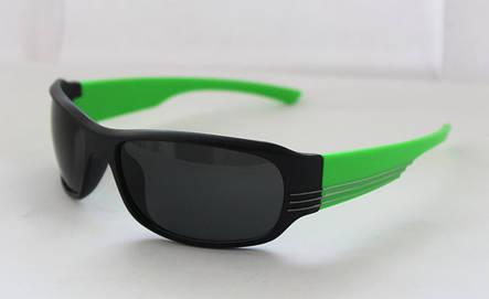 Креативные спортивные мужские солнцезащитные очки с кислотными дужками, фото 2