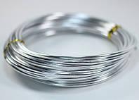 Ювелирная проволока Серебряная 1.5 мм 5 метров