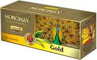 Чай Мономах Gold, черный, 25 пакетиков