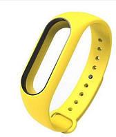 Ремешок для Xiaomi Mi band 2 Yellow желтый оригинал Гарантия!