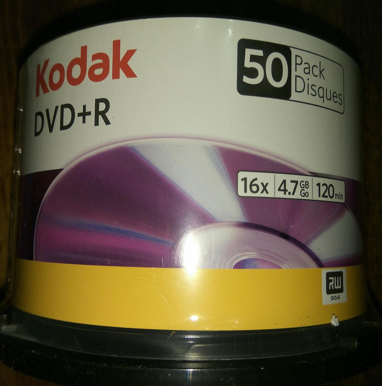 DVD + R Kodak 16 x ( 50 шт и 4 шт)