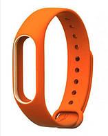 Ремешок для Xiaomi Mi band 2 Orange оранжевый оригинал Гарантия!