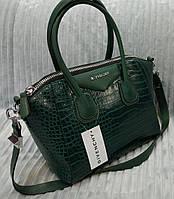 Сумка брендовая Givenchy под рептилию цвет зеленый