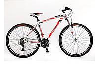 "Велосипед SKD 29"" Optimabikes BIGFOOT AM Vbr рама-19"" Al бело-красн. 2015"