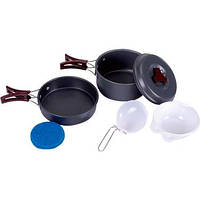 Набор посуды KingCamp Climber 1 KP3910 (Light grey)